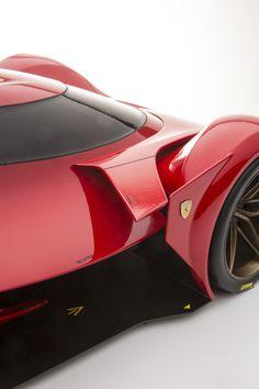 Thesis study: Ferrari's return to Le Mans. Creating the ultimate experience of owning a pedigree Le Mans Ferrari, though one-off exclusivity. Lamborghini, Maserati, Bugatti, Ferrari 458, Porsche, Audi, Bmw, Jaguar, Nissan