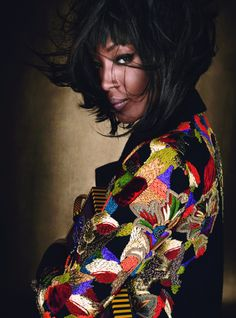 wmagazine: Luxe Be a Lady Naomi Campbell photographed by Emma SummertonStyled by Giovanna Battaglia; W Magazine July 2012.