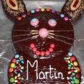 Martin a déjà 1 an ! Le temps passe vite, c'est peu de le dire...Pour fêter ce bel évènement, j'ai réalisé un gâteau original et très...
