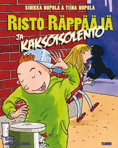 Risto Räppääjä ja kaksoisolento (Kovakantinen). 16,80 €