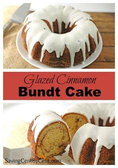 http://bestkitchenequipmentreviews.com/pressure-cooker/ Glazed Cinnamon Bundt Cake