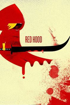 Red Riding Hood #illustration // pinned by @welkerpatrick