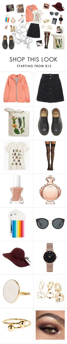"""""""Sans titre #478"""" by elisabouyrie ❤ liked on Polyvore featuring A.P.C., Topshop, Retrò, Dr. Martens, J.Crew, Paco Rabanne, STELLA McCARTNEY, Prada, CLUSE and J.W. Anderson"""