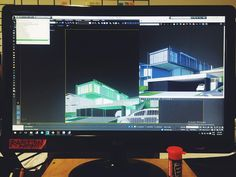 Na produção de mais renders para a Casa Alphaville! (: #0E1 #0E1representação