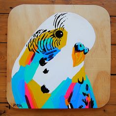 This is an original ANYA BROCK painting on 120m plywood. Size: 300mm W x 300mm HThe plywood plaques have intentional imperfections in shape and colour which create a rustic and hand made feel.It comes varnished and ready to hang. Postage includes signature upon delivery.Delivery is roughly 7 working days within Australia.SOLD OUT