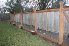 Build a safe yard length dog run so your pet can run the length of the yard in safety without being on a chain. This is great for folks that don't have a f