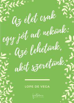 Esküvői idézetek Lope de Vega