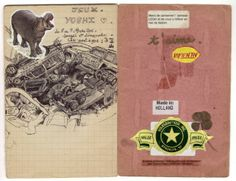 Huguette - Miel de châtaignier (notebook)   ARTE Creative