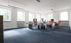 Zentraler möblierter Büroraum in Schwabing #Büro, #Bürogemeinschaft, #Office, #Coworking, #München, #Munich