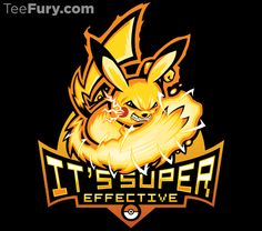 Pika Power T-Shirt $11 Pikachu tee at TeeFury today only!