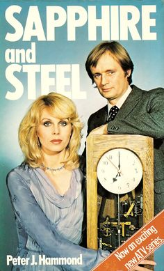 'Sapphire and Steel' ran from 1979 to 1982 on ITV; it starred Joanna Lumley 'Sapphire', and David McCallum as 'Steel' Joanna Lumley, 1970s Childhood, My Childhood Memories, Childhood Images, Mejores Series Tv, Vintage Television, Old Tv Shows, Thing 1, Vintage Tv