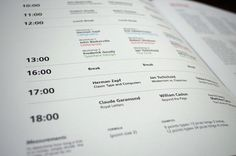 Apex Typography Conference by Lucas Galo, via Behance