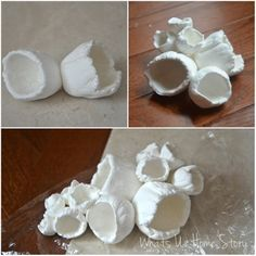 DIY Barnacles – Make barnacles from clay - Unterwasserwelt Basteln Polymer Clay Projects, Diy Clay, Clay Crafts, Diy And Crafts, Arts And Crafts, Paper Clay, Clay Art, Craft Projects, Projects To Try