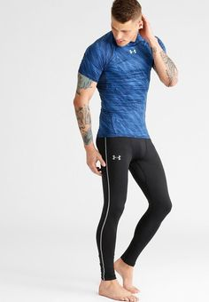 Under armour unterhemd / shirt - dark blue - zalando. Sport Fashion, Mens Fashion, Lycra Men, Hommes Sexy, Gym Style, Sport Man, Gym Wear, Workout Wear, Mens Fitness