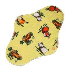 Cloth pad bundle 4pcs, 1 night, 1 day, 1 pantyliner, 1 mini pantyliner