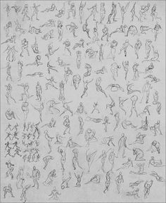 Shizz just got real. Inspired by a Ctrl+Paint video, this week I've decided to go for a 1,000 gesture challenge. 150 per day every day for a week, posing, action and perspective! These are all abou...