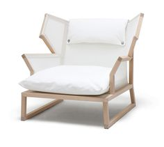 A Kind of Casual Elegance alfred armchair maple wood structure
