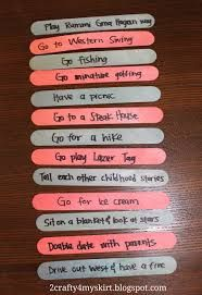 popsicle sticks for bridal shower advice - Google Search