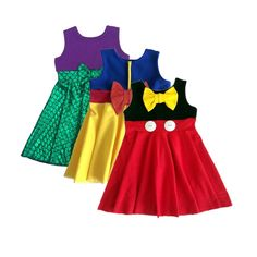 We are loving the Disney inspired dresses! Which is your favorite? * Each dress sold seperate