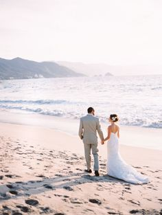 Puerto Vallarta beach #wedding Photography: Megan W Photography  Read More: http://www.stylemepretty.com/2014/05/22/dreamy-puerto-vallarta-destination-wedding/