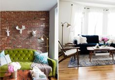Making It Work: How One Renter Used the Same Pieces in Two Very Different Small Spaces — Side by Side Style