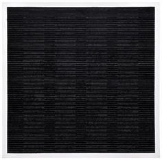 Black no. 1 by the American artist Agnes Martin. Beautiful and subtle.