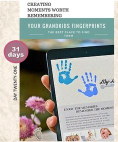 Your grandkids fingerprints- the best place to find them.