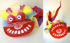 Chinese Dragon Puppet for children to make