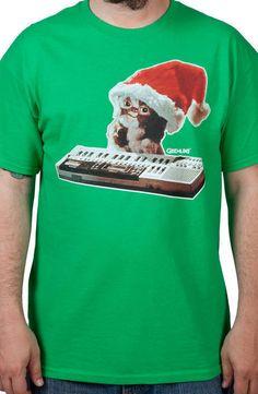 Also want. // Santa Hat Gizmo Shirt