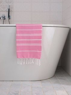 Hammam handdoek 100x50 Ottomania sorbetroze