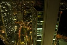 View from Shiodome Tower