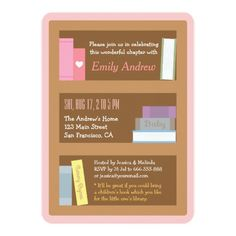 15 best book themed baby shower invitations images on pinterest in book themed baby shower invitations filmwisefo