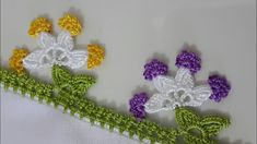 How to Get Holes and Holes on the Face Medical Treatment Methods Crochet Lace Edging, Crochet Borders, Bead Crochet, Crochet Flowers, Crochet Stitches, Crochet Earrings, Quilt Baby, Saree Tassels Designs, Free Crochet Bag