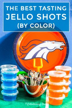 The Best Jello Shot Recipes (By Color) - Entertaining Diva Recipes @ From House To Home I LOVE this list of the best jello shots by color! Lots of easy recipes that are made with vodka, tequila, rum or coconut rum. I really like the margarita o Orange Jello Shots, Easy Jello Shots, Margarita Jello Shots, Blue Jello, Pink Jello Shot Recipe, Jello Shot Recipes, Alcohol Recipes, Drink Recipes, Salad Recipes