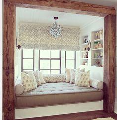 100 idee di un angolo lettura per una stupenda casa - Finestra a bovindo ...