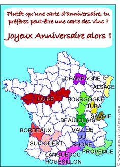 #Carte des vins ou carte d'#anniversaire ? pour envoyer par La Poste, sur Merci-Facteur !