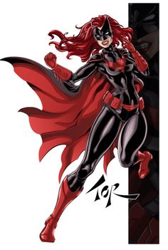 Revenge of the Batwoman - She has red hair, this makes me happy ;)