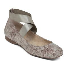 """Jessica Simpson """"Mandalaye"""" Ballet Flat with Straps--love this shoes, cute, comfy and versatile!"""