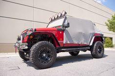 Rugged Ridge Cab Cover in Gray for Jeep Wrangler Unlimited JK 4 Door Jeep Wrangler Interior, 4 Door Jeep Wrangler, Jeep Jk, 2018 Jeep Wrangler Unlimited, Rugged Ridge, Jeep Camping, Custom Jeep, Jeep Accessories, Cover Gray