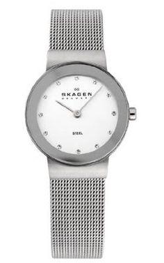 Skagen Women's 358SSSD Silver Dial Mesh Bracelet « Holiday Adds