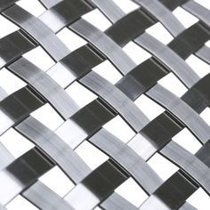 """Banker Wire Mesh S-18 was inspired by the many who have asked for a """"basket weave"""" mesh. Banker delivers a beautiful mid-scale pattern that fits the bill."""