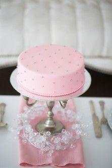 Light Pink Wedding Cake
