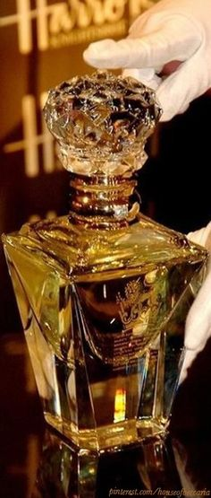 ~Clive Christian's Imperial Majesty Perfume - $215,000.00 USD~ Available at Harrod's of London | House of Beccaria