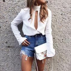 Imagem de fashion, style, and white