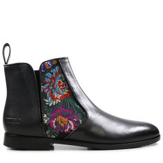 Ankle Boots Susan 34 Korela Black Elastic Black