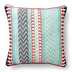 "Room Essentials™ Global Stripe Pillow (18x18"")"