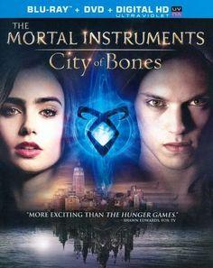 The Mortal Instruments: City of Bones [2 Discs] [Includes Digital Copy] [UltraViolet] [Blu-ray/DVD] [2013]