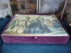Hanes Hosiery box with La Mode Illustree on cover