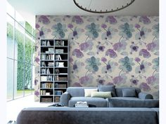 Stunning organic illustrations, suitable for any Care scheme Living Room Inspiration, Wall Murals, Gallery Wall, Tapestry, Curtains, Interior, Mural Ideas, Illustrations, Illustration