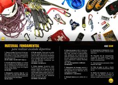 Material fundamental para realizar Escalada Deportiva by FEDME - issuu